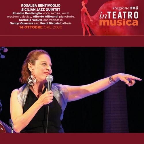 ROSALBA BENTIVOGLIO - Sicilian Jazz Quintet