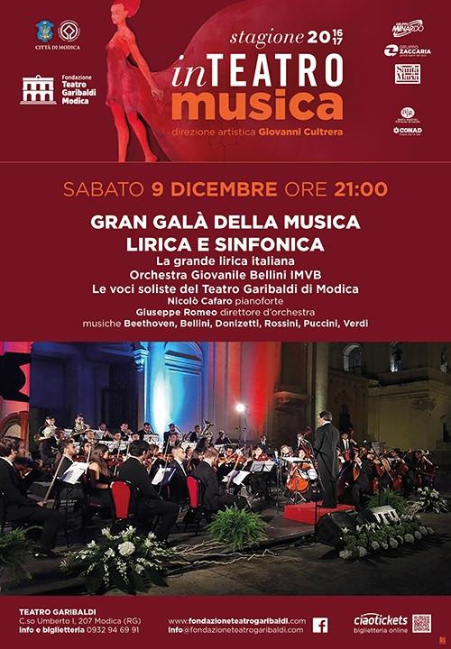 GRAN GALÀ DELLA MUSICA LIRICA E SINFONICA - La grande lirica italiana