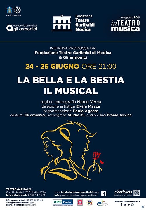LA BELLA E LA BESTIA - IL MUSICAL