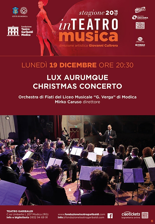 Lux Aurumque, Christmas concerto