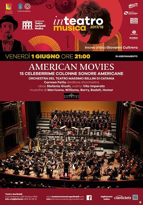 AMERICAN MOVIES - 15 celeberrime colonne sonore americane - Orchestra del teatro Massimo Bellini di Catania