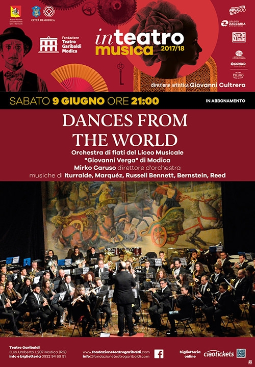 DANCES FROM THE WORLD - Orchestra di fiati del Liceo Musicale