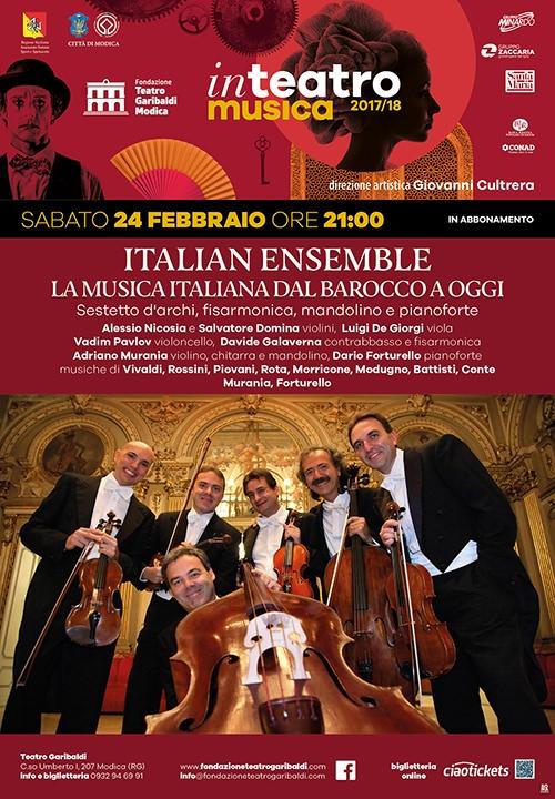 ITALIAN ENSEMBLE - La musica italiana dal barocco a oggi