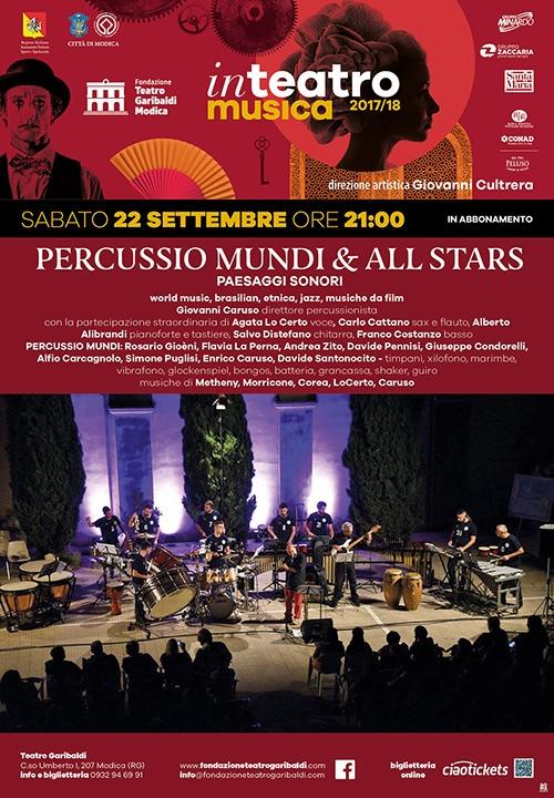 PERCUSSIO MUNDI & ALL STARS - Paesaggi sonori