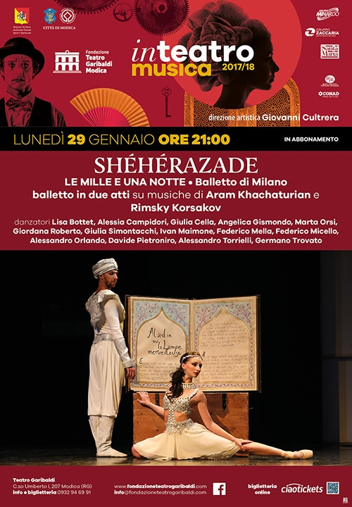SHÉHÉRAZADE - Le mille e una notte - Balletto di Milano