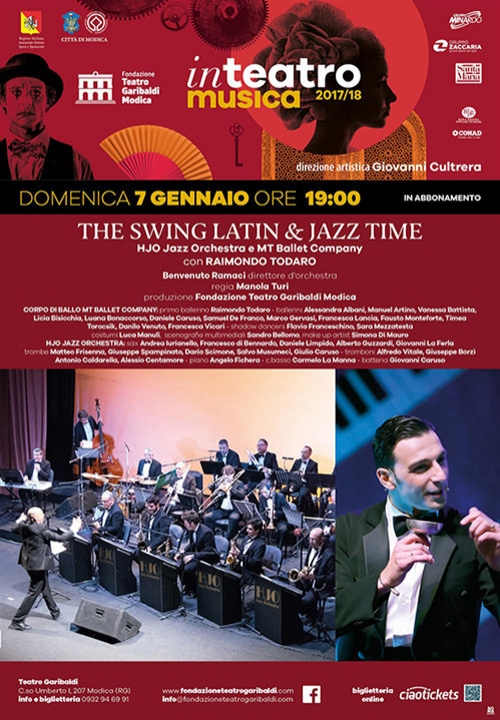 THE SWING, LATIN & JAZZ TIME - HJO Jazz Orchestra e MT Ballet Company