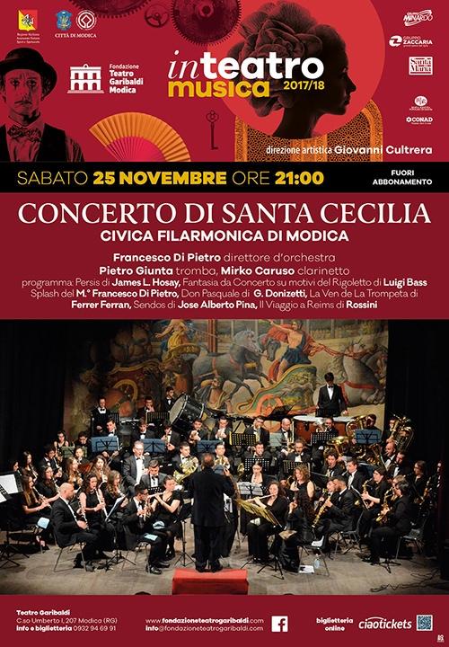CONCERTO DI SANTA CECILIA - Civica Filarmonica di Modica