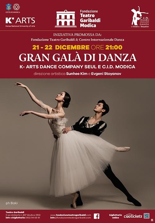 GRAN GALÀ DI DANZA - K-Arts dance company Seul e C.I.D. Modica