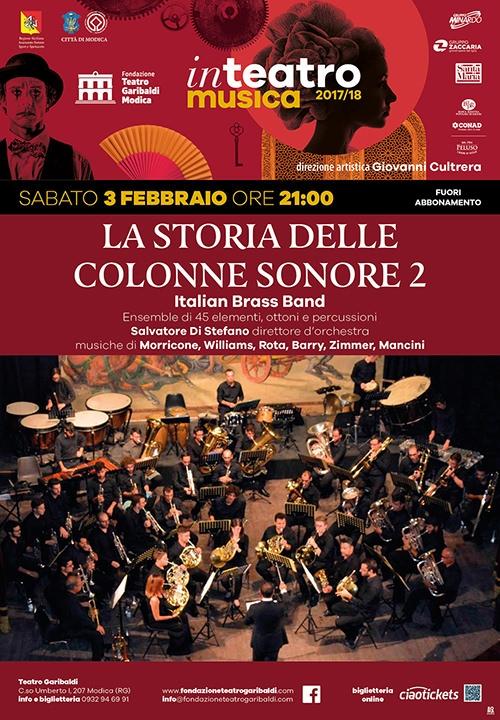 LA STORIA DELLE COLONNE SONORE 2 - Italian Brass Band
