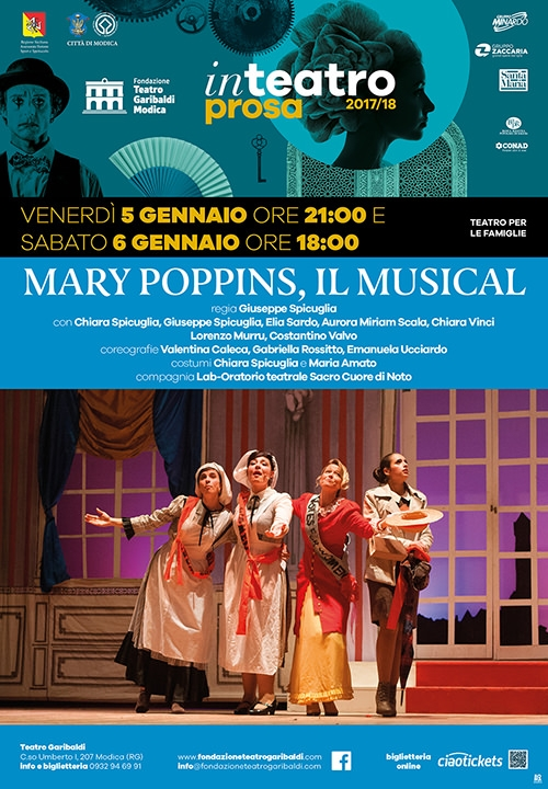 MARY POPPINS, IL MUSICAL