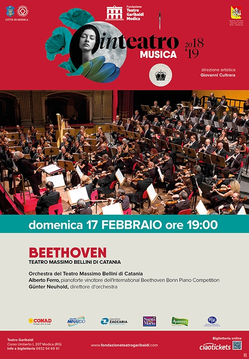 BEETHOVEN - TEATRO MASSIMO BELLINI DI CATANIA