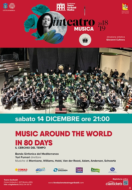 MUSIC AROUND THE WORLD IN 80 DAYS - Il cerchio del tempo