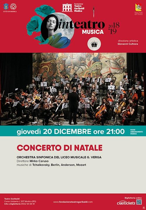 CONCERTO DI NATALE - Orchestra Sinfonica del Liceo Musicale G. Verga