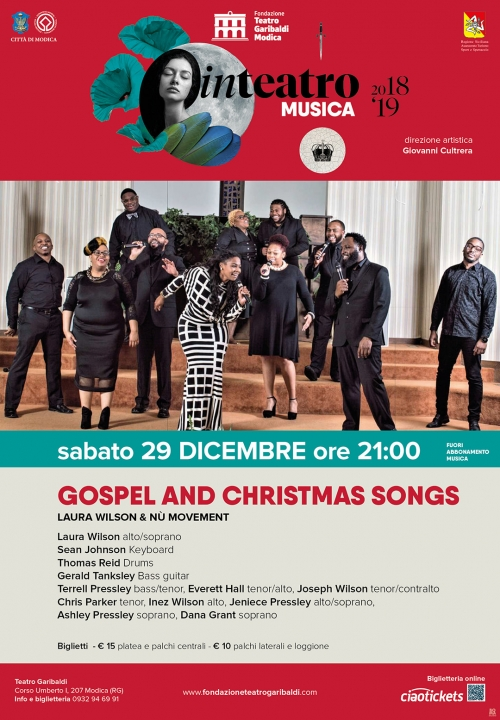 GOSPEL AND CHRISTMAS SONGS - Laura Wilson & Nù Movement