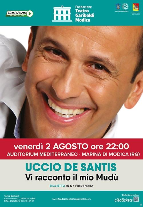 VI RACCONTO IL MIO MUDU' - Uccio De Santis