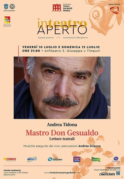 MASTRO DON GESUALDO - Letture teatrali