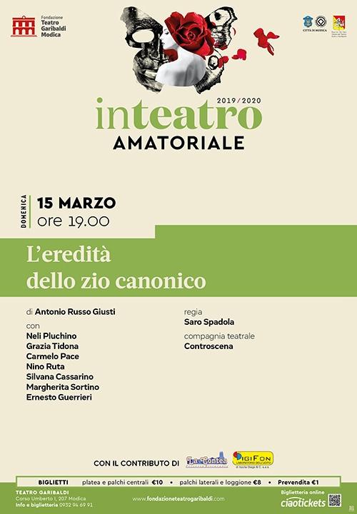 L'EREDITÀ DELLO ZIO CANONICO