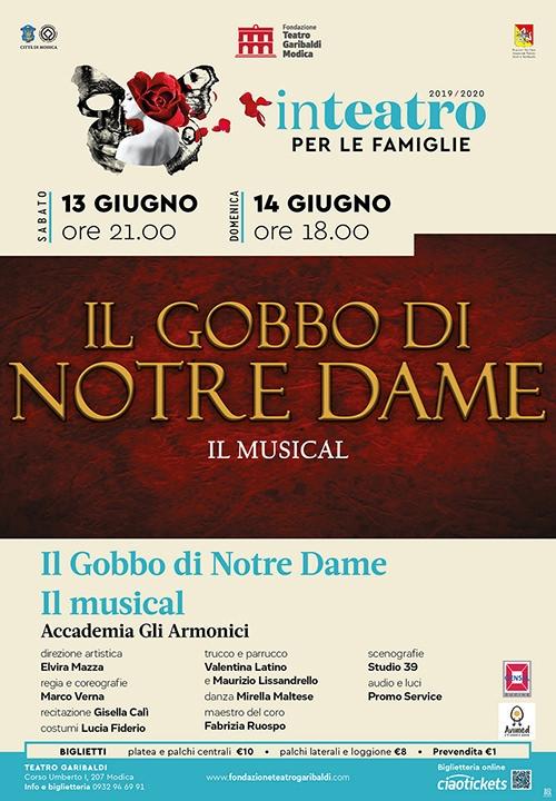 IL GOBBO DI NOTRE DAME IL MUSICAL