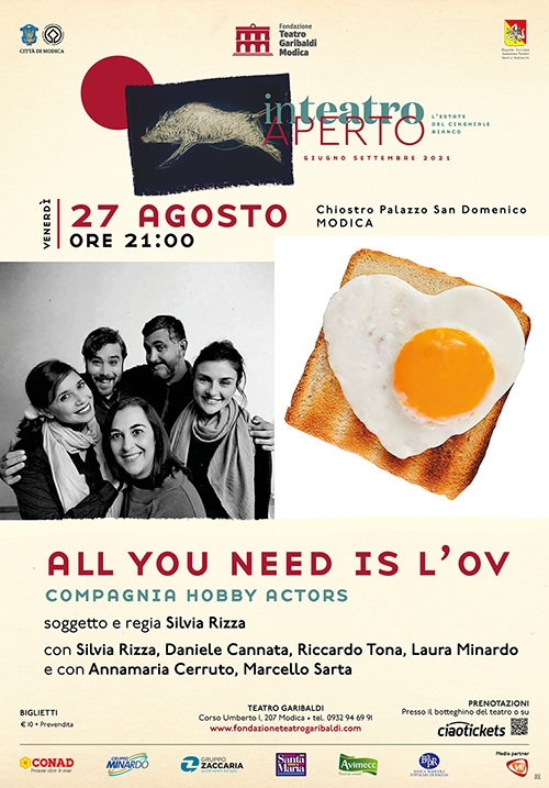 All you need is l'ov - Compagnia Hobby Actors
