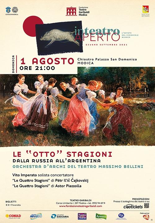 Le otto stagioni - Dalla russia all'argentina orchestra d'archi del teatro Massimo Bellini