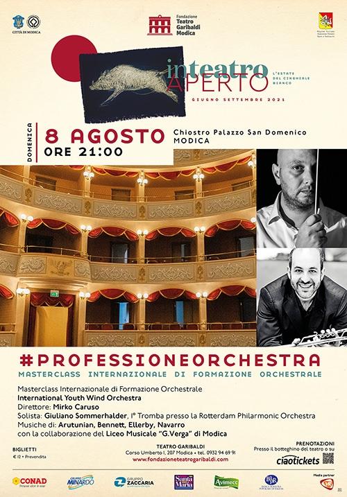 Masterclass Internazionale di formazione orchestrale - International Youth Wind Orchestra